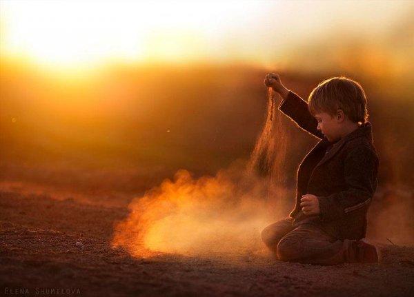 Очаровательные фото кадры - дети и животные - №2