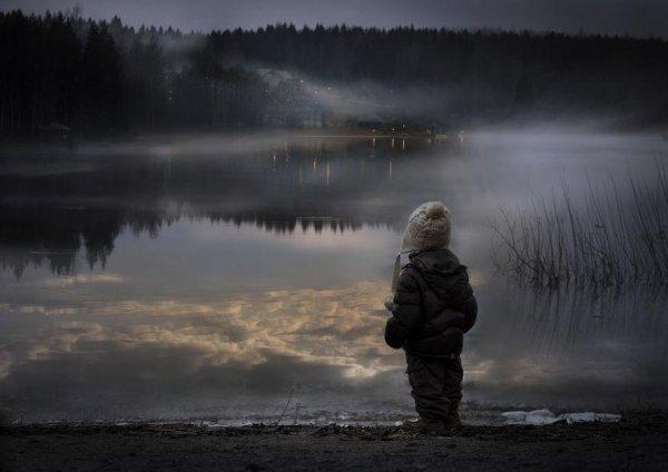 Очаровательные фото кадры - дети и животные - №6