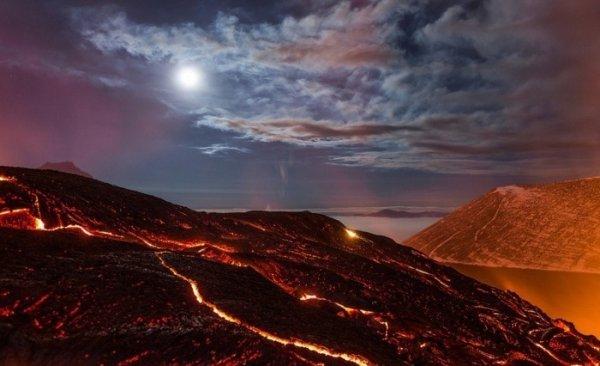 Лучшие фото кадры извержения вулканов мира - №7