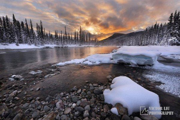 Чувственные фото пейзажи от канадского фотографа Victor Liu - №8