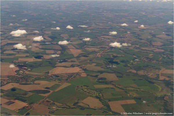 Аргентина, вид с воздуха - южноамериканские фото пейзажи - №7