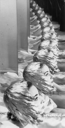 Эрвин Блюменфельд. Одри Хепберн, актриса. Нью-Йорк. 1950-е. Швейцария, частная коллекция. © The Estate of Erwin Blumenfeld