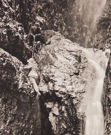 Необыкновенные изображения сделаные первыми в мире альпинизма фотографами..!!! - №8