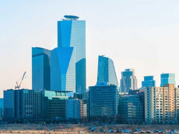 городской пейзаж графика