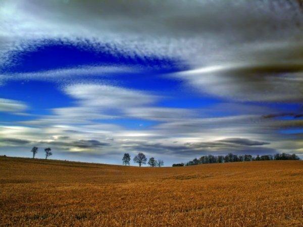 красивые облака фото