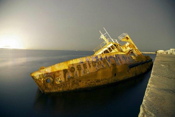 смотреть корабль-призрак