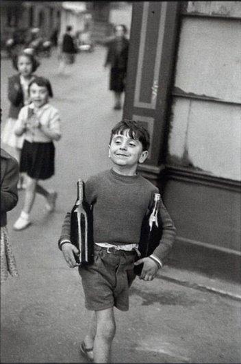 Мишель Габриэль, 1952 г. Уличные фото