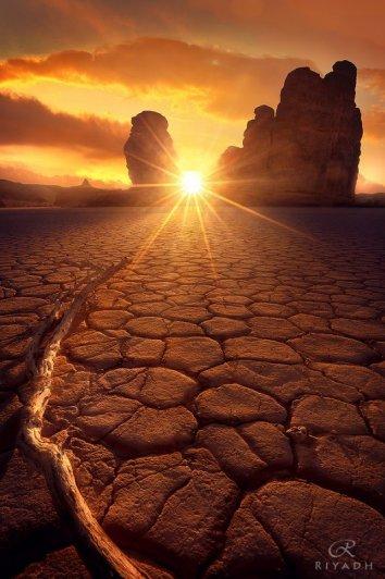 закат солнца фото