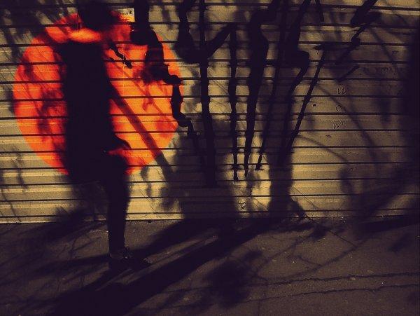 Оранжевый шар