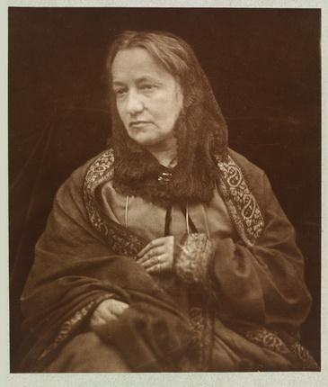 Генри Гершель Гей Кэмерон. Портрет Джулии Маргарет Кэмерон, сделанный ее сыном, 1870. © Victoria and Albert Museum, Лондон