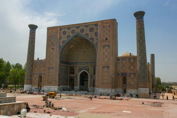 Самарканд Регистан