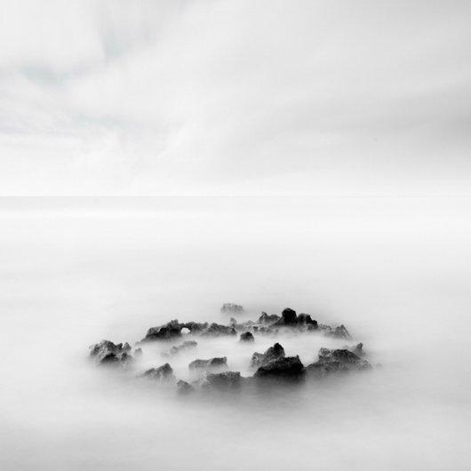 черно-белый пейзаж 3