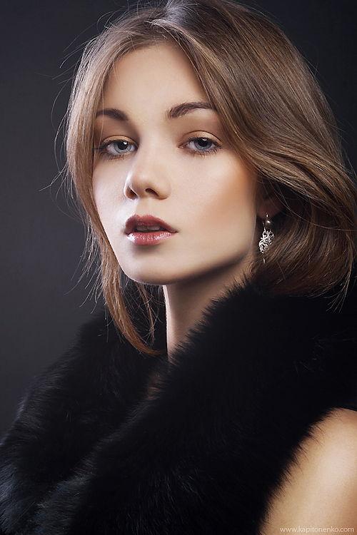 Высококачественная обработка женского портрета стиль beauty
