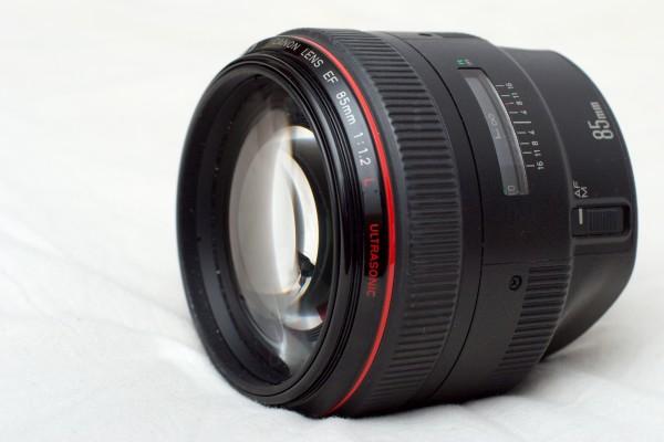 про объектив Canon 85mm f/1.2