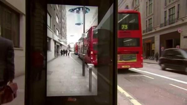 Офигительный розыгрыш на остановке Лондона