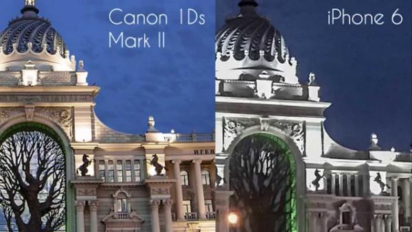 Canon 1Ds против iphone 6! Кто победит?