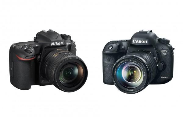 Сравнение Nikon D500 и Canon 7D Mark II
