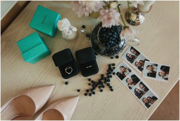 Как фотографировать свадебные кольца?