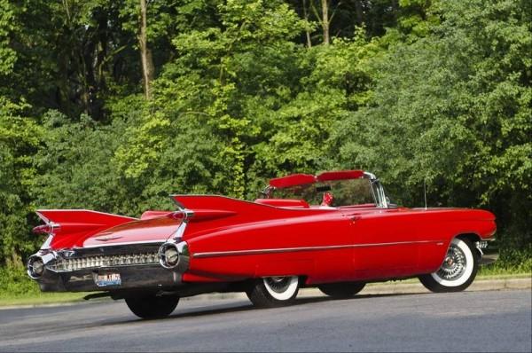 Отчёт о съемке с Cadillac 1959 Cabrio