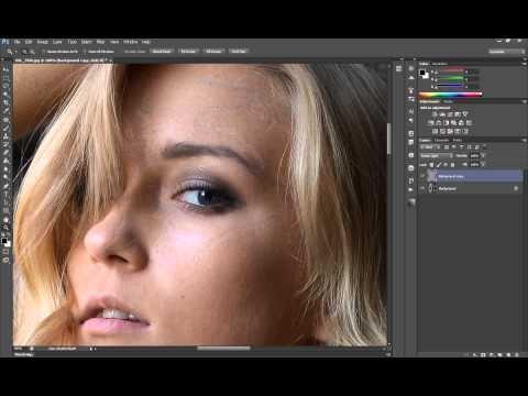 Повышение резкости в программе Photoshop