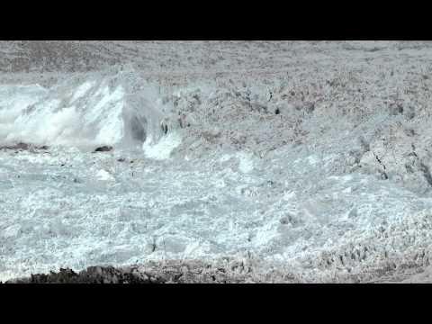 Cход ледника в Гренландии