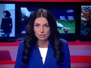 Ведущая новостей показала класс в прямом эфире