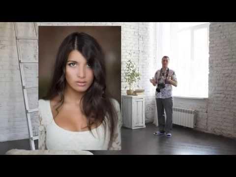 Съемка портрета со светом от окна