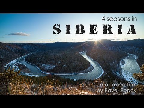 Timelapse. Siberia