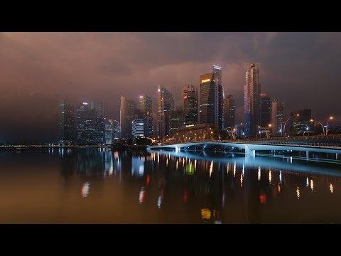 Таймлапс. Сингапур.