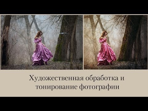 Художественная обработка и тонирование фотографии