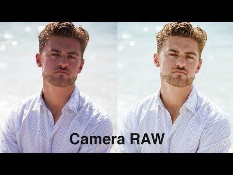 Простая коррекция сложного цвета лица в Camera Raw