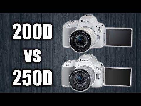 Canon 250D vs 200D